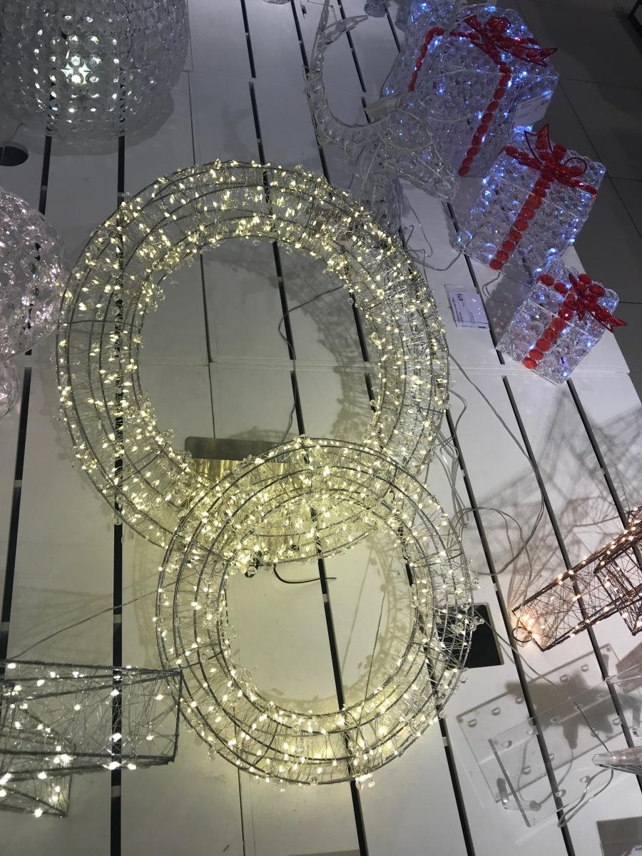 John Lewis wire wreaths
